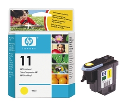 Original HP Druckkopf gelb (C4813A,11,11Y,11YELLOW,NO11,NO11Y,NO11YELLOW)