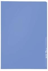 4000 Standard Sichthülle A4 PP-Folie, genarbt, blau, 0,13 mm