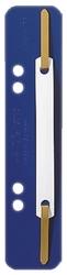 3710 Einhänge-Heftstreifen PP, kurz - blau, 25 Stück