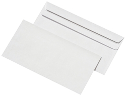 Elepa - rössler kuvert Briefumschläge DIN lang (220x110 mm), ohne Fenster, selbstklebend, 72 g/qm, 1.000 Stück