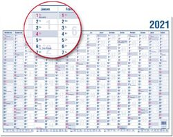 Güss Wandkalender - A2, 16 Monate