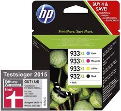 Original HP Tintenpatrone MultiPack Bk,C,M,Y (C2P42AE,932XL/933XL,NO932XL/933XL)
