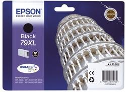 Original Epson Tintenpatrone schwarz (C13T79014010,T790140,79XL,T7901,T79014010)
