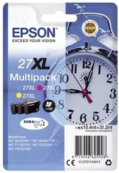 Original Epson Tintenpatrone MultiPack C,M,Y (C13T27154012,27XL,T27154012)