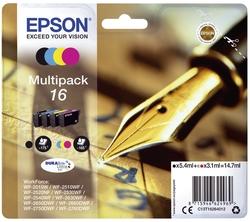 Original Epson Tintenpatrone MultiPack Bk,C,M,Y (C13T16264012,16,T16264012)