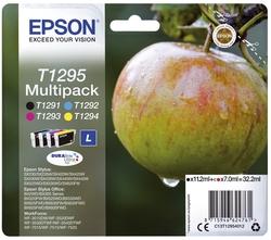 Original Epson Tintenpatrone MultiPack Bk,C,M,Y (C13T12954012,T1295,T12954012)