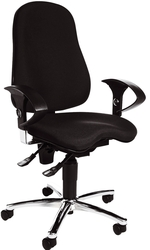 Topstar® Fitness-Drehstuhl SITNESS 10 schwarz