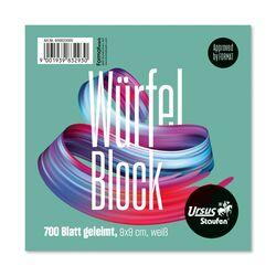 Ursus Basic Würfelblock geleimt weiß 700 Blatt 70g/qm