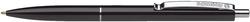 Schneider Druckkugelschreiber K15 - M, schwarz (dokumentenecht)