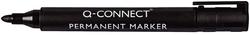 Q-Connect Permanentmarker, ca. 2 mm, schwarz