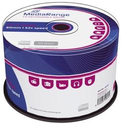 CD-R Rohlinge - 700MB/80Min, 52-fach/Spindel, Packung mit 50 Stück