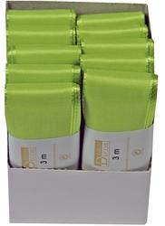Goldina® Basic Taftband - 40 mm x 3 m, apfelgrün VE = 10 C62