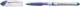 Kugelschreiber SLIDER mit Soft-Grip-Zone, F blau  VE = 10 ST