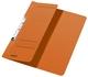 3744 Schlitzhefter, 1/2-Vorderdeckel, A4, kfm. Heftung, Manilakarton 250 g/qm, orange