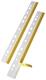 Heftstreifen HEFTFIX® - selbstklebend, 292 mm, glasklar, 10 Stück
