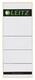 Leitz 1647 Rückenschilder - breit/extra kurz, 61 x 157 mm, hellgrau