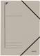 Leitz 3980 Eckspanner - A4, 250 Blatt, Pendarec-Karton (RC), grau