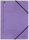Leitz 3980 Eckspanner - A4, 250 Blatt, Pendarec-Karton (RC), violett