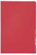 Leitz 4000 Standard Sichthülle A4 PP-Folie, genarbt, rot, 0,13 mm