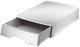 Leitz 5210 Briefkorb Plus mit Schublade, A4, Polystyrol, grau