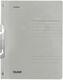 Einhakhefter A4 1/1 Vorderdeckel kfm. Heftung, grau, Manilakarton, 250 g/qm