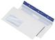 Cygnus Excellence Briefumschlag 114x229mm, haftkebend, weiß, Offset 100g, 500 Stück mit Fenster