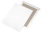 Elepa - rössler kuvert Papprückwandtaschen B4, ohne Fenster, 120 g/qm, weiß, 125 Stück