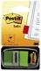 Post-it® Index Standard-Typ 680 - 25,4 x 43,2 mm, grün