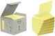 Post-it® Recycling Z-Notes - 76 x 76 mm, pastellgelb