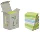 Post-it® Recycling Notes, Rainbow pastell - 38 x 51 mm, 6 x 100 Blatt
