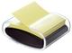 Haftnotizspender für  Z-Notes, gefüllt, schwarz/transparent