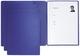 Pagna® Bewerbungsmappe Solo - blau
