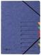 Pagna® Ordnungsmappe EASY - 7 Fächer, A4, Pressspan, 265 g/qm, blau