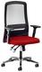 PROSEDIA Bürodrehstuhl Eccon 7172 rot/schwarz