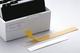 Durable Schilderrahmen Schildfix, mit Blanko-Einsteckschild, 200 x 20 mm, 10 Stück