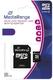MediaRange Micro SDHC Speicherkarte 4GB Klasse 10 mit SD-Karten Adapter