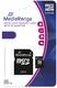 MediaRange Micro SDHC Speicherkarte 8GB Klasse 10 mit SD-Karten Adapter