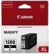 Original Canon Tintenpatrone schwarz (9182B001,PGI-1500BKXL,PGI-1500XLBK)