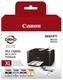 Original Canon Tintenpatrone MultiPack Bk,C,M,Y (9182B004,PGI-1500XLCMYBK)