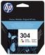 Original HP Tintenpatrone color (N9K05AE,304,304C,304COLOR,NO304,NO304C,NO304COLOR)