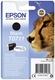 Original Epson Tintenpatrone schwarz (C13T07114012,T0711,T07114012)