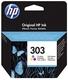 Original HP Druckkopfpatrone color (T6N01AE,303,303C,303COLOR,NO303,NO303C,NO303COLOR)