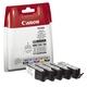 Original Canon Tintenpatrone MultiPack 2x Bk + 1x C,M,Y (2078C005,580/581CMYK)