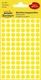 Avery Zweckform® 3013 Markierungspunkte - Ø 8 mm, 4 Blatt/416 Etiketten, gelb