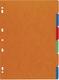 Exacompta Register Nature Future® - A4, blanko, Manila-Karton, 6-teilig, farbig  VE = 10 C62