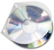 Veloflex® CD/DVD-Hüllen - Hardbox zum Abheften, 10 Stück