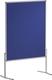 Moderationstafel PRO, 120 x 150 cm, blau/Filz, einteilig