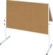 Moderationstafel U-Act! Line, 120 x 150 cm, geteilt