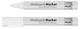 Glasboard-Marker - Rundspitze, weiß, 2 Stück
