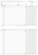 Kontokorrentkarte,breite Textspalte, 100 Karten, DIN A5 quer, weiß